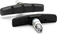 Тормозные колодки V-Brake XLC BS-V01, 4шт, черные