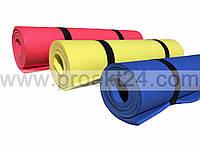 Коврик для фитнеса одноцветный 1200×500×8мм