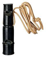 Trixie (Трикси) Buffalo Horn Whistle Рог Буйвола двухтональный свисток для собак 9 см