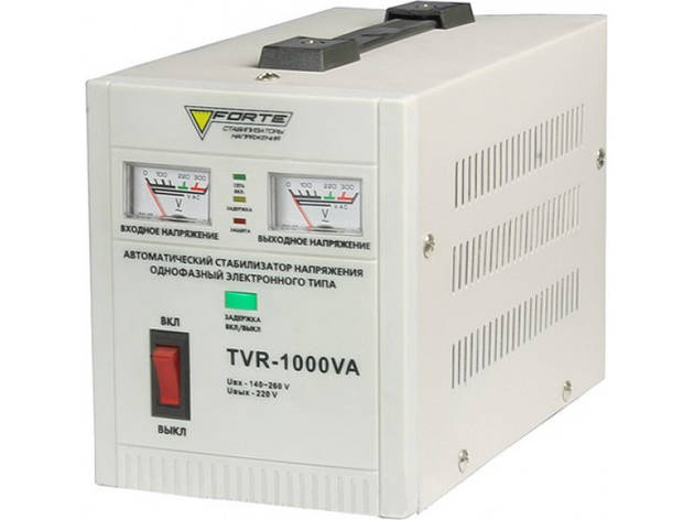 Стабилизатор релейного типа Forte TDR-1000VA, фото 2