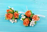 Бутоньерки свадебные в ассортименте