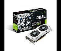 Видеокарта ASUS GeForce GTX 1060 Dual OC 3GB GDDR5  (DUAL-GTX1060-O3G)