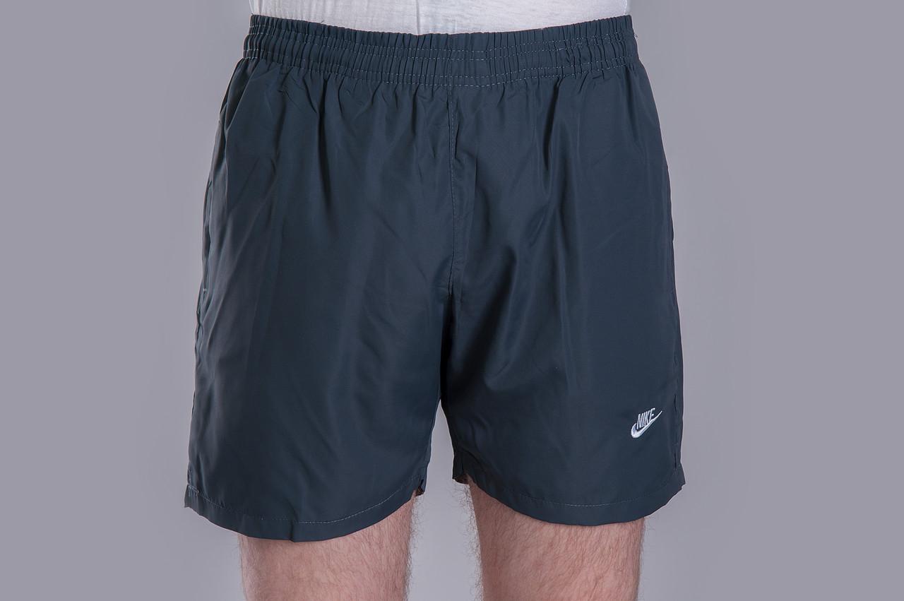 Чоловічі шорти NIKE (плащівка), сірого кольору