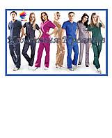 Яркие медицинские костюмы под заказ (от 50 шт.)