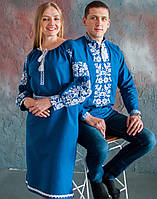 Вишите плаття Бохо -  Моя пташечка  (машинна вишивка, домоткана тканина)