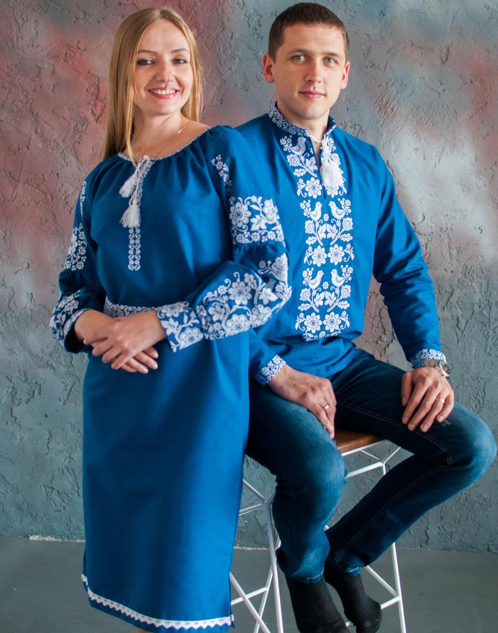 Вишите плаття Бохо - Моя пташечка (машинна вишивка 918ee5b4dba23