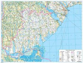 Авто 1:250 000 Одеська обл Карта автошляхів Авто Одеська, фото 3