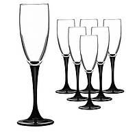 Набор бокалов для шампанского (6шт/170 мл) Luminarc Domino h8167-166419