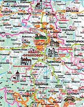 Турист Україна Туристична карта 1:1 250 000, фото 3