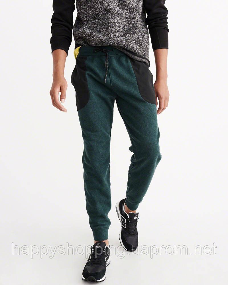 "Зеленые спортивные штаны ""Jogger"" Abercrombie & Fitch"