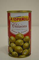 Оливки зеленые фаршированные анчоусами La Espanola 350 г
