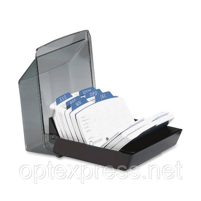 Закрита картотека Petite для 250 карт 57х102мм ROLODEX