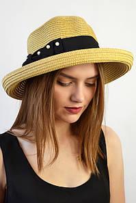 Шляпа Мальта беж