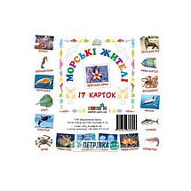 Зірка Картки міні Морські жителі 17 карток, фото 3