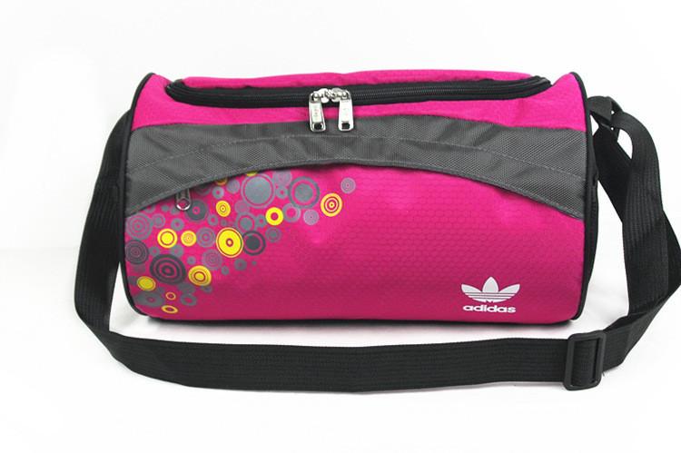 Спортивная сумка Adidas розовая (реплика)