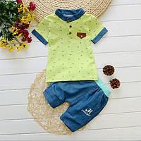 Детские шорты и футболка для мальчика летние.