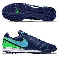 Сороконожки Nike TIEMPOX GENIO II LEATHER TF, фото 1