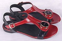 Женские босоножки кожаные