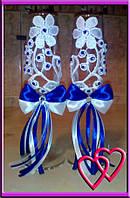 Свадебные бокалы Цветы любви