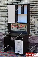 Стол компьютерный угловой Премьер. Венге Магия+Дуб Молочный