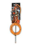 Набор для кровельных работ: 2 горелки, жесткая подводка для газа 1 м, шланг 5 м, Rexxer, RB-04-066