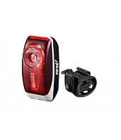 Мигалка задняя INFINI I-407R, 0.5W Red LED, 3 режима, батарейки в комплекте