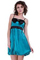 Атласное платье мод. Ч185