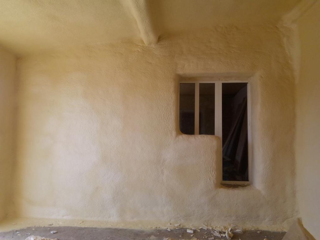 хранилище для яблок, стены 60 мм потолок 80 мм пенополиуретана