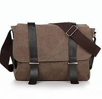 Повседневная тканевая сумка. Формат А4. 4 цвета