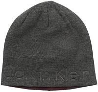 Шапка Calvin Klein Embossed Logo, Charcoal