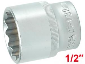 """YATO Головка торцева 12-гранна, з квадр. 1/2"""", М=32мм, L=42 мм"""