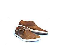 Мужские туфли летние YDG Bellini 7165 с натуральной кожи