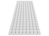 Акустический поролон «Пирамида» 70 мм, 100*45 cм. Светлый.