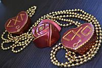 Набор  рунических аромакамней для Привлечения Любви «Огненные Сердца»