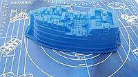 Силиконовая форма для выпечки Корабль