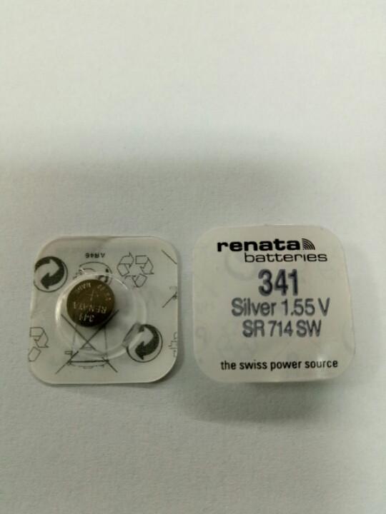 Батарейка часовая Renata SR714 (341)