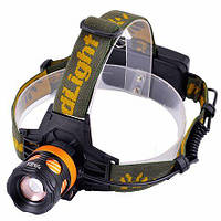 Налобный фонарь Police 12V 6813-T6, 2 ак.18650, zoom