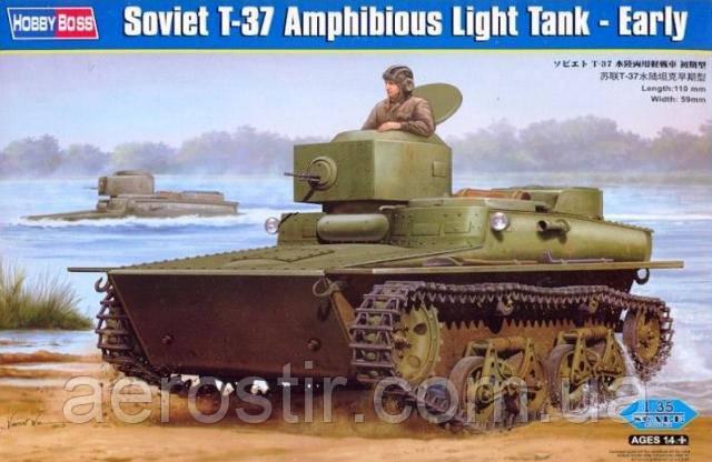 Танк Т-37 1/35 HOBBY BOSS 83818