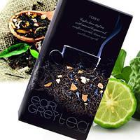 Цейлонский черный чай Noble Black Earl Grey Tea с натуральным маслом бергамота