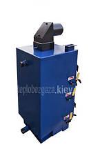 Отопительный котел на твердом топливе Идмар GK-1 25 кВт. Для дома 250 кв.м, фото 3