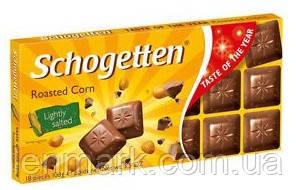 Молочный шоколад Schogеtten  «Roasted Corn» (жареная кукуруза ) 100 г
