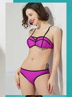 Фиолетовый купальник с двойным push-up Polovi 1626D-1