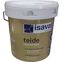 Тейде - матовая краска для стен и потолков ISAVAL 4л - до 48м2, фото 1