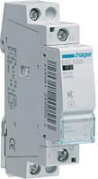 Контактор безшумный 25A 1НО 230В Hager ESC125S