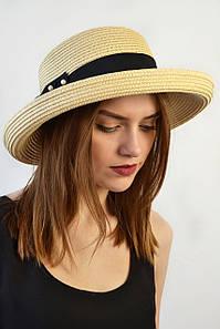 Шляпа Мальта светлый беж