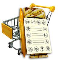 Шопінг-планшет ShopNotes «Авоська-Макарони 2», фото 1