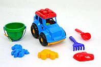 "Трактор ""Кузнечик №3"" 0220 (24) ""COLOR PLAST"""