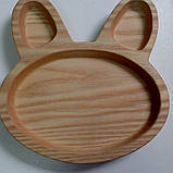 Тарелка заяц, фото 4