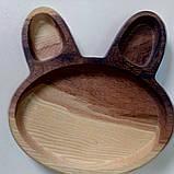 Тарелка заяц, фото 2