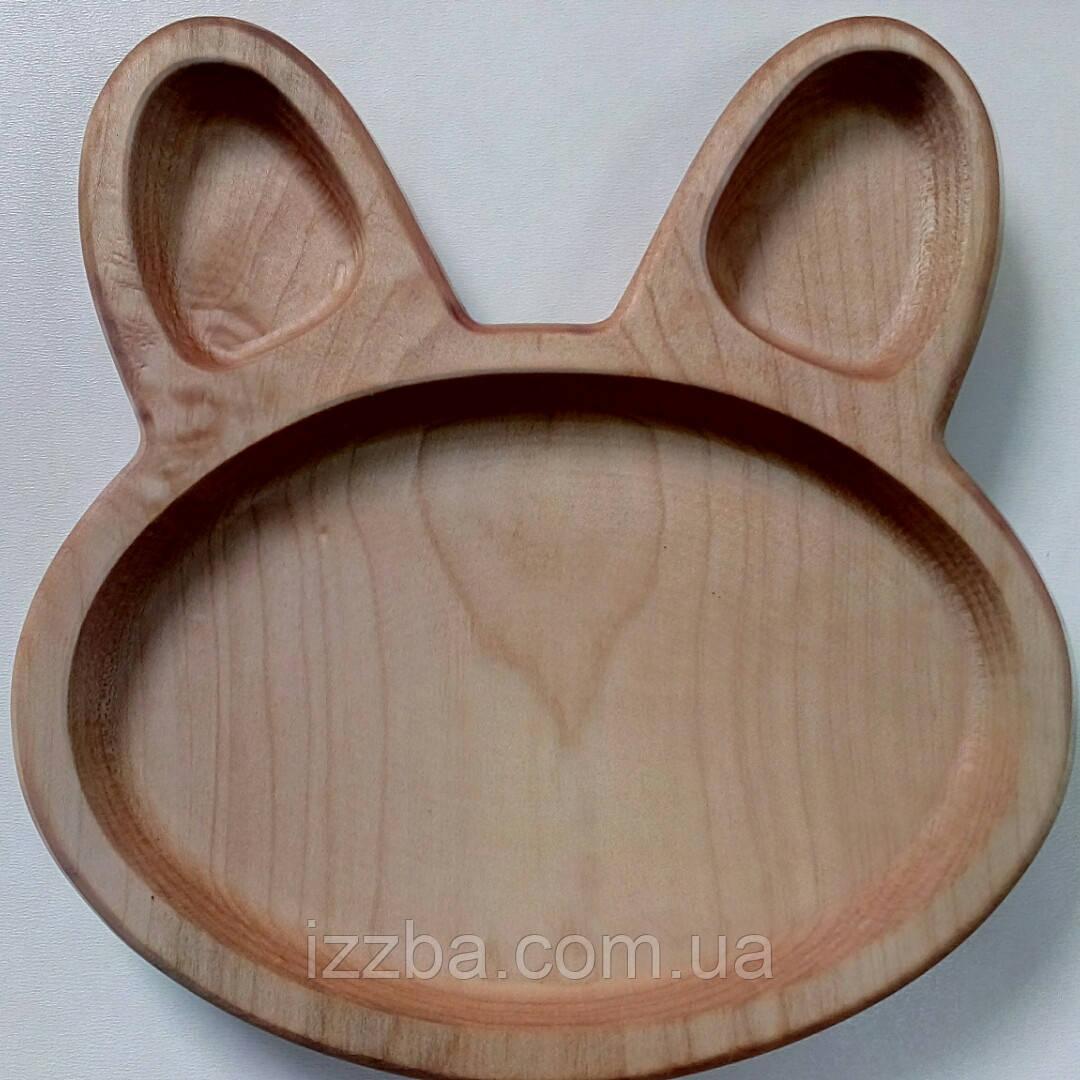 Тарелка заяц
